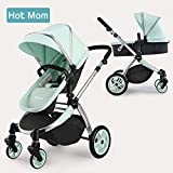Hot Mom Multi Stroller Pram 2 в 1 с багги 2018 new Des