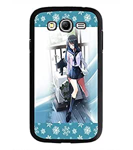 PrintDhaba Cute Girl D-2502 Back Case Cover for SAMSUNG GALAXY GRAND NEO PLUS (Multi-Coloured)