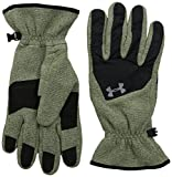 Under Armour Coldgear Infrared des Mann-Handschuhe Fleece Grün Greenhead/schwarz Small