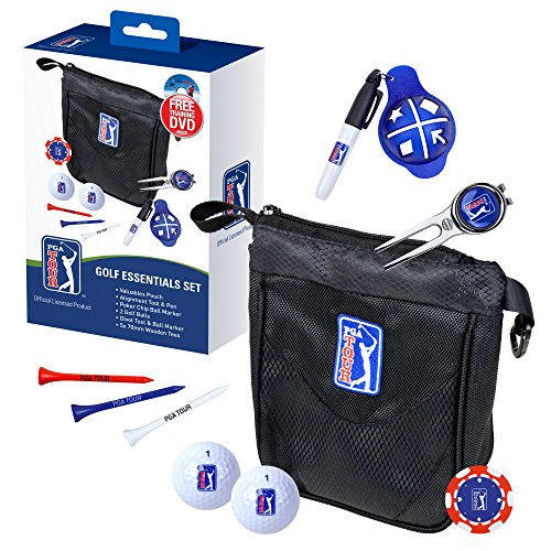 PGA Tour PGAT183 - Conjunto de elementos esenciales para golf