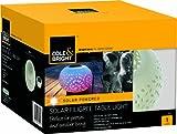 Cole & Bright 18420 Solar Filigree Table Light - White