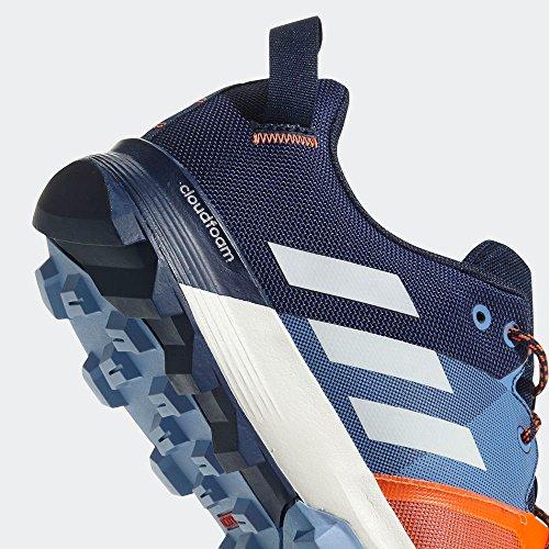 Adidas Kanadia 8.1 Tr M, Chaussures De Course À Pied Homme Bleu (marine / Blanc Cassé / Bleu Ash S18)