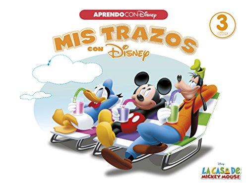Mis trazos con Disney (Aprendo con Disney) (La casa de Mickey Mouse) por Disney