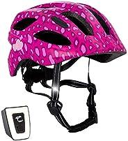 Fahrradhelm mit licht für Kinder - und Jugendliche | Größe 54-58 I Ansprechender Kinder-Fahrradhelm für Jungs