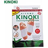 Divinezon Kinoki Cleansing Detox Foot Patches 10 Adhesive Pads Kit Natural Unwanted Toxins Remover
