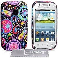 Samsung Galaxy Young Tasche Mehrfarbig Silikon Gel Qualle Hülle