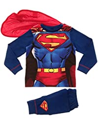 Disfraz De niños niño Déguisements Juego De alto y pijamas pijama pijamas Pjs-Juego, diseño De Buzz Lightyear De fiesta, diseño De Superman Batman talla 8 años, diseño De la bandera del reino unido