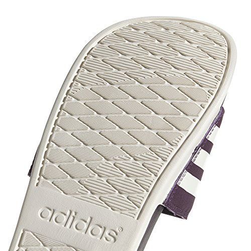 Adidas Ladies Adnet Cloudfoam Plus Stripes Aqua Shoes Multicolore (nob Re D / Cwhite / Nob Re D Ah2589)