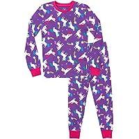 Harry Bear Girls Unicorn Pyjamas Snuggle Fit