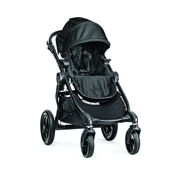 Baby Jogger City Select Single Stroller Black  From 6 months -15 kg Patented Quick-Fold Technology- fold your stroller in one step 16 possible seating combinations (with double conversion kit sold separately) 2