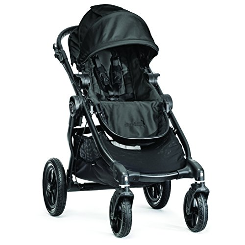 Baby Jogger BJ23410EN City Select-Kinderwagen, Single-Modell, schwarz (Baby Select Double City Jogger)