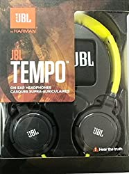 JBL J03YG Tempo On-Ear Headphone (Yellow Gray)