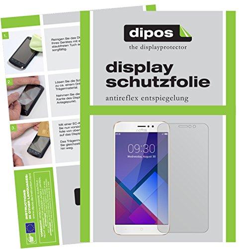 dipos I 6X Schutzfolie matt passend für TP-Link Neffos C7 Folie Bildschirmschutzfolie