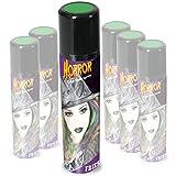 Hairspray Horror 100 ml Fasching Karneval Halloween Verkleiden Haarspray grün