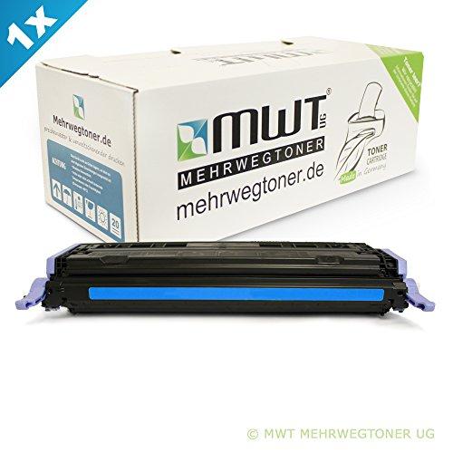 Preisvergleich Produktbild 1x MWT Remanufactured Toner für HP Color LaserJet CM 1015 1017 MFP ersetzt Q6001A