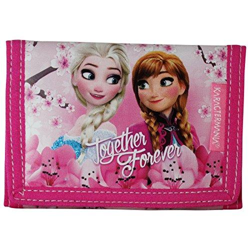 Disney Frozen Blossom Portefeuille Pour Enfant Porte-Monnaie Cartes Pochette