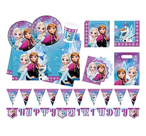 tyset Disney Frozen Northern Lights, Größe XL, 52 teilig ()