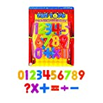 The Home Fusion Company Magnetic Numbers Childrens Kids Maths Learning Magnets Fridge Whiteboard