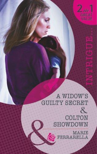 book cover of A Widow\'s Guilty Secret / Colton Showdown