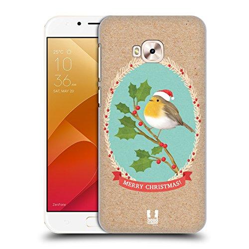 Head Case Designs Rotkelchen Weihnachtsklassiker 2 Ruckseite Hülle für Zenfone 4 Selfie Pro ZD552KL