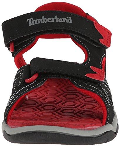 TimberlandActive Casual Sandal FTK_Adventure Seeker 2 Strap Sandal - Scarpe da Ginnastica Basse Unisex – Bambini Black