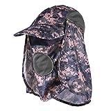 Vbiger Unisex Cappello Visiera Cappello da Sole Berretto da Esterno per Uomo e Donna