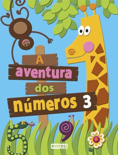 A aventura dos números 3 (La Aventura de los Números) - 9788440312426