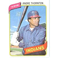 1980 Topps # 534 Andre Thornton Cleveland Indians Baseball Card