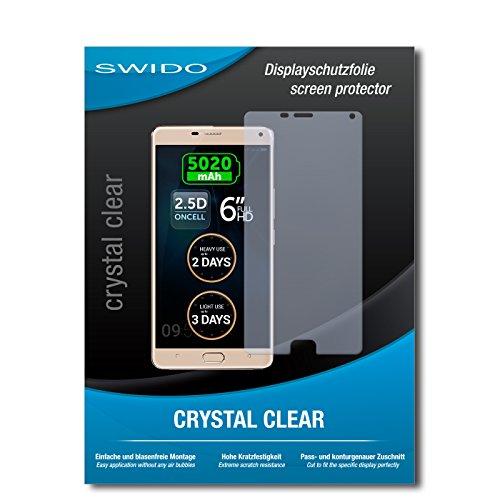SWIDO Schutzfolie für Allview P8 Energy Pro [2 Stück] Kristall-Klar, Hoher Härtegrad, Schutz vor Öl, Staub & Kratzer/Glasfolie, Bildschirmschutz, Bildschirmschutzfolie, Panzerglas-Folie