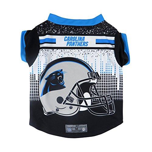 s Pet Performance T-Shirt, Medium (Carolina Panthers Hund)