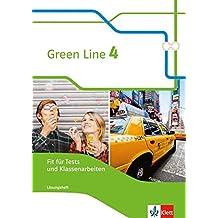 Green Line 4: Fit für Tests und Klassenarbeiten mit Lösungsheft und CD-ROM Klasse 8 (Green Line. Bundesausgabe ab 2014)