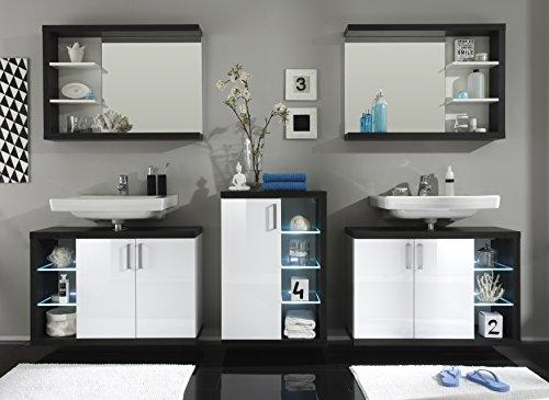 Badezimmer Wandspiegel – Rauchsilber Nachbildung - 2