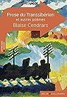 Prose du Transsibérien et autres poèmes par Cendrars