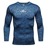 OUICE T-Shirts de Compression Homme Fitness pour Football Jogging Cyclisme Running...