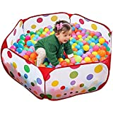 Playhood Fun Ball Pool Playing Pen with 50 Balls for Kids, Toddlers, Pets