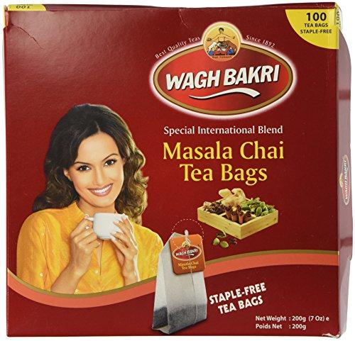 Wagh Bakri Masala Chai Tea Bags (100 Tea Bags) 200gms