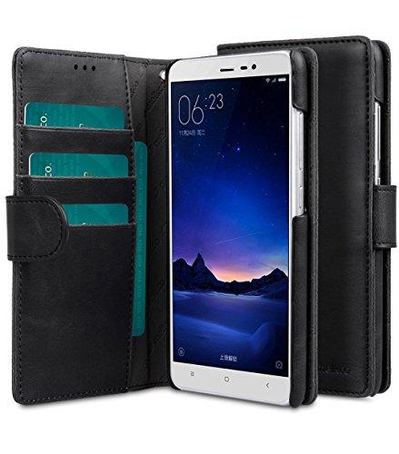 Melkco Étui type portefeuille pour iPhone 5 Black PU 4