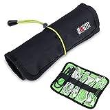 Generic Camouflage: BUBM Kopfhörer Marke Rolle Storage Bag für Digital Gadget Geräte USB Kabel Kopfhörer Stift Electronics Zubehör Travel Tasche Organizer Tasche