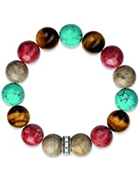 Thomas Sabo - Bracelet - Argent Sterling 925 - Turquoise - A1579-935-7-L15