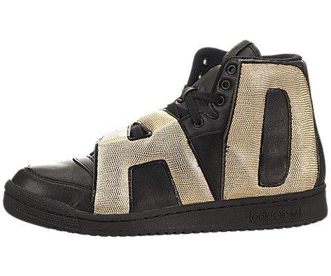 Adidas Jeremy Scott Buchstaben Gold - Schwarz / Schwarz-Gold, 10 D Us