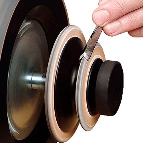 Tormek Disque De Démorfilage Profilé En Cuir La-120 Tormek