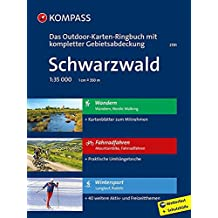 Schwarzwald: 3 in 1: Das KOMPASS-Outdoor-Karten Ringbuch mit kompletter Gebietsabdeckung 1:35000