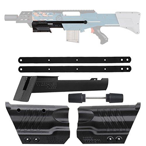 LoKauf Worker F10555 Mod Griff Pull Down Kit für Nerf Zombie Strike ZED  Squad Longshot