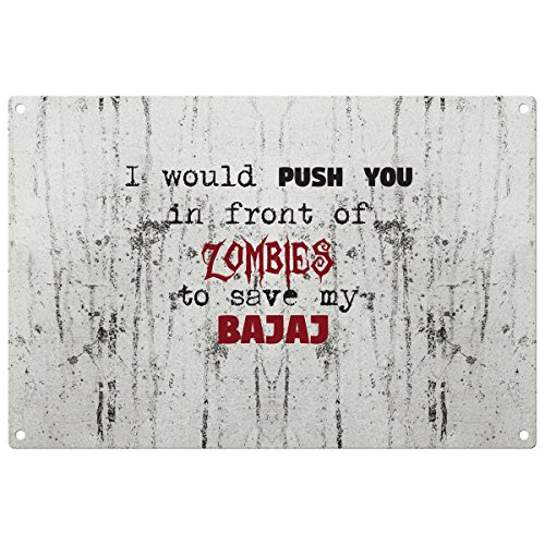 save-my-bajaj-from-the-zombies-vintage-decorative-wall-plaque-ready-to-hang
