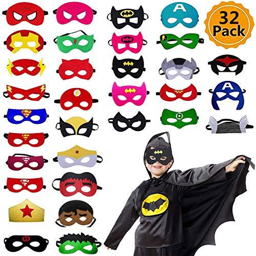 Ventdest Máscaras de Superhéroe