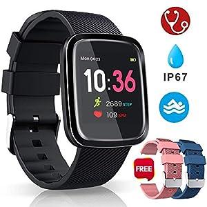 Smartwatch Reloj Inteligente Deportivo Pulsera Actividad Inteligente IP67