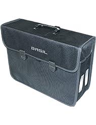 Basil Malaga - Bolsa para hombre, color gris, 13 l