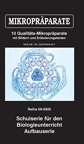 LIEDER Mikropräparate-Set Schulserie für den Biologieunterricht, Aufbauserie