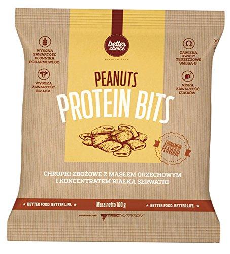 Trec Nutrition Protein Bits Sesame Riegel Proteinriegel Sesam Diät Nahrungsergänzung Protein Bodybuilding 100g Cinnamon Flavor - Zimt