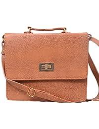 Scarlett Premium Women's Sling Bag (Light Brown Color)